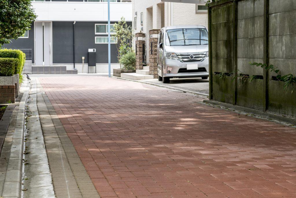 塚山公園南側道路拡幅工事 / 2020年~2021年写真01