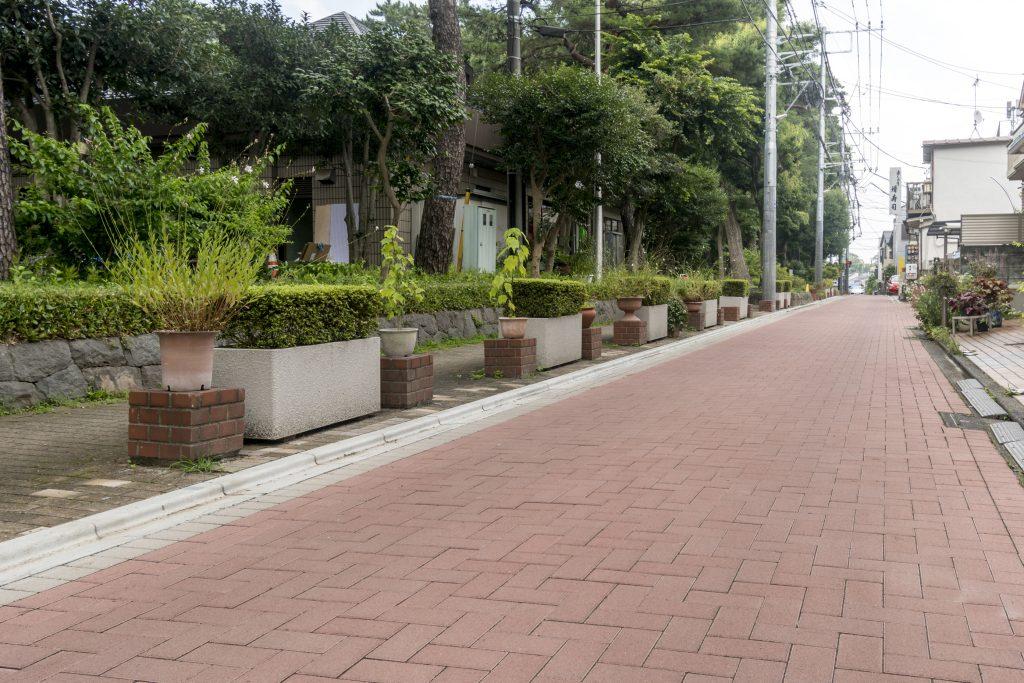 塚山公園南側道路拡幅工事 / 2020年~2021年写真02