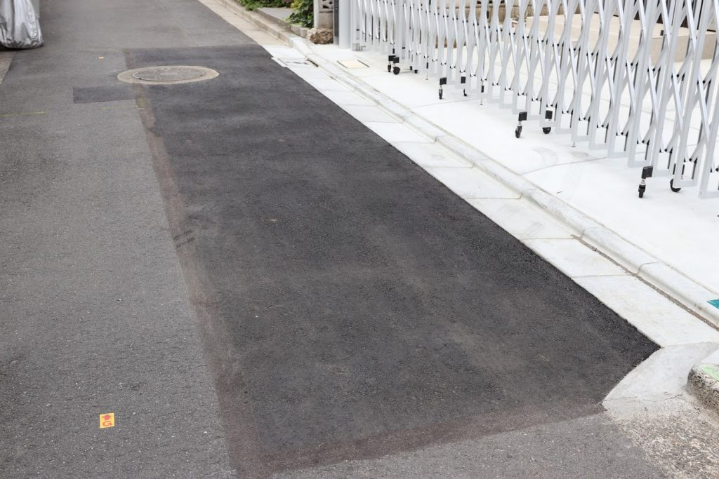 令和3年度 狭あい道路拡幅整備工事(単価契約)その4 / 2021年写真01